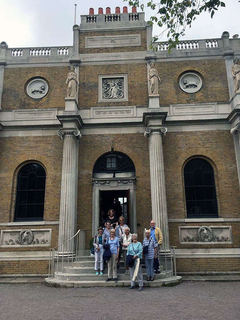 London Studies 1 visit a famous architect's country house